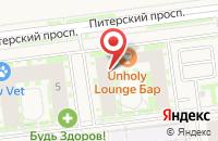 Схема проезда до компании NewПитер в Новоселье