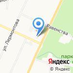 Мангал на карте Санкт-Петербурга