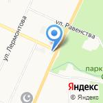Магазин сантехники и газового оборудования на карте Санкт-Петербурга