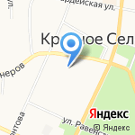 Баня №1 на карте Санкт-Петербурга