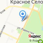 Почтовое отделение №320 на карте Санкт-Петербурга
