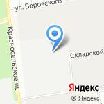 ЛенБетон на карте Санкт-Петербурга