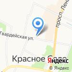 Макси-сервис на карте Санкт-Петербурга