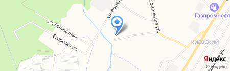 Почтовое отделение №310 на карте Гатчины