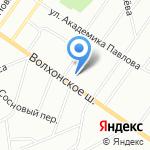 Володарский пансионат на карте Санкт-Петербурга