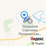 Храм вечного успокоения роду светлейшего князя и графов Зубовых на карте Санкт-Петербурга