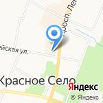 Центр медицинской оптики на карте Санкт-Петербурга