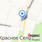 Восторг на карте Санкт-Петербурга