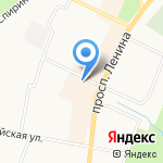 Юридическое бюро на карте Санкт-Петербурга