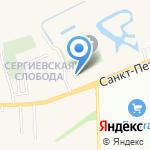 Санкт-Петербургский университет МВД России на карте Санкт-Петербурга
