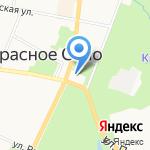 Воскресная школа на карте Санкт-Петербурга
