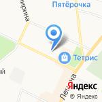 Городская поликлиника №93 на карте Санкт-Петербурга