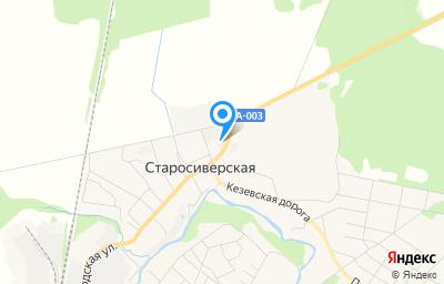 Местоположение на карте пункта техосмотра по адресу Ленинградская обл, Гатчинский р-н, д Старосиверская, пр-кт Большой, д 100А