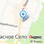 Академия СПб на карте Санкт-Петербурга