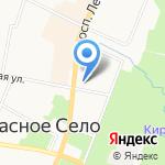 Детская музыкальная школа №34 на карте Санкт-Петербурга