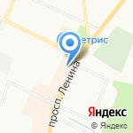Хлебная усадьба на карте Санкт-Петербурга