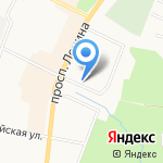Сфера на карте Санкт-Петербурга