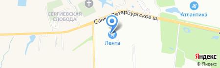 Интурист Магазин Путешествий на карте Санкт-Петербурга
