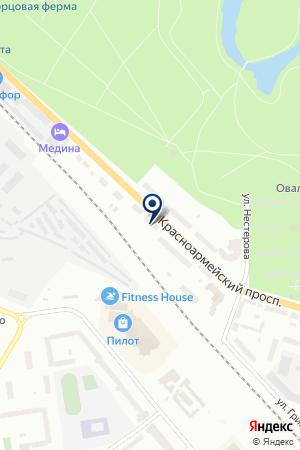 НПФ СВИТ на карте Гатчины
