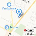 Мегаполис на карте Санкт-Петербурга