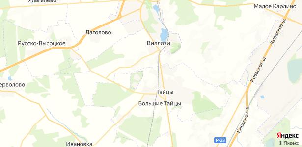 Старицы на карте