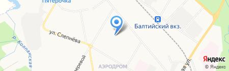 Детский сад №31 на карте Гатчины