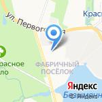 Конкорд бетон Северо-Запад на карте Санкт-Петербурга