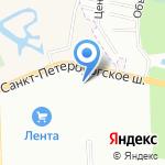 МКС 24 на карте Санкт-Петербурга