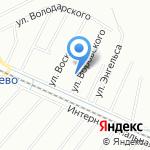 Городская поликлиника №91 на карте Санкт-Петербурга