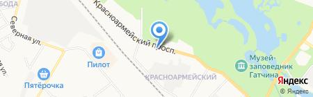 Центр Государственной инспекции по маломерным судам МЧС России по Ленинградской области на карте Гатчины