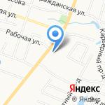 Техник на карте Санкт-Петербурга