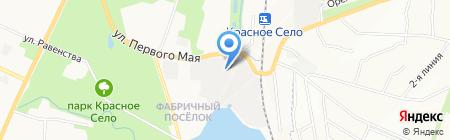 ИНТЕРСВАРКА на карте Санкт-Петербурга