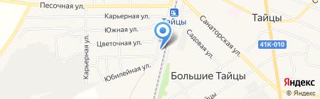 Магазин зоотоваров на Карьерной на карте Большой Ивановки