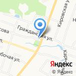 Фрамир на карте Санкт-Петербурга