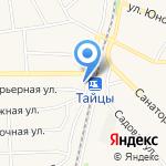 Фужер на карте Санкт-Петербурга