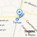 Тайцы на карте Санкт-Петербурга
