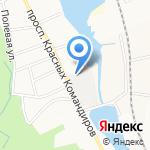 Город МК на карте Санкт-Петербурга