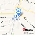 Магазин сумок и кожгалантереи на карте Санкт-Петербурга