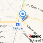 Магазин книг на карте Санкт-Петербурга