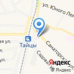 Франт на карте Санкт-Петербурга