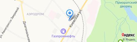 Заправься! на карте Гатчины