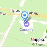 Сититель Отель Груп Ольгино на карте Санкт-Петербурга