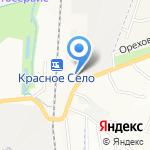 Стройудача на карте Санкт-Петербурга