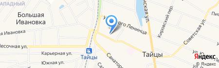 Почтовое отделение №340 на карте Больших Тайцев