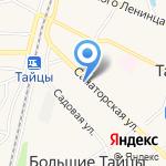 Ромашка на карте Санкт-Петербурга