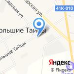 Каскад на карте Санкт-Петербурга