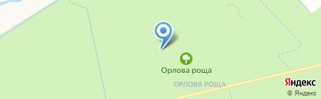 Петербургский институт ядерной физики им. Б.П. Константинова на карте Гатчины
