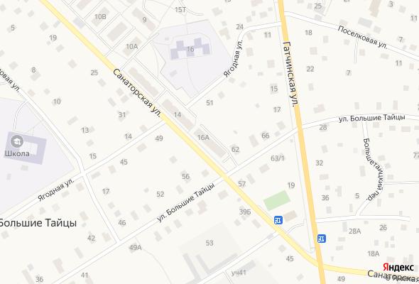 жилой комплекс Тайцы, Санаторская ул., д. 16