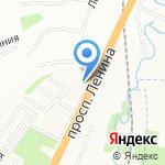 Северный сад на карте Санкт-Петербурга