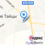 Тритон на карте Санкт-Петербурга